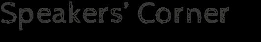 Scuola di lingue Foligno. Speakers Corner