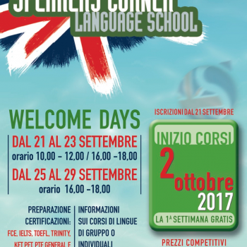Welcome Day Speakers Corner Language School