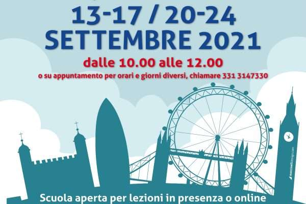 Lingua Inglese Open Day